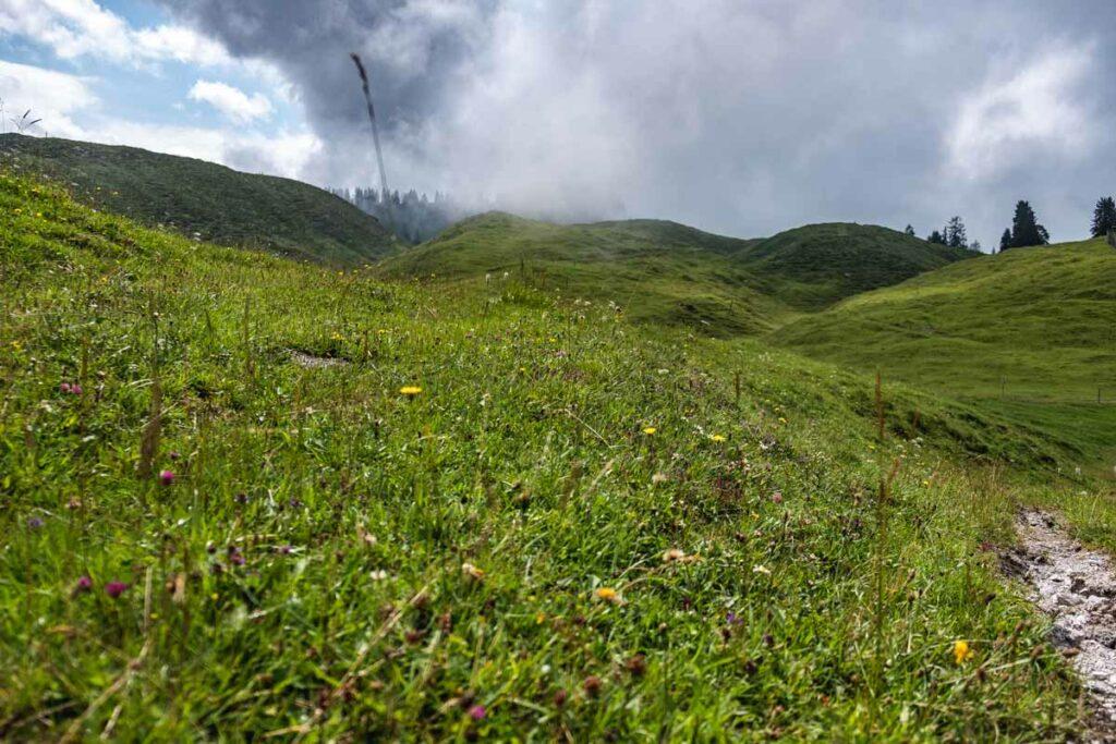 Der Weg über die Koasa Trail Etappe 4