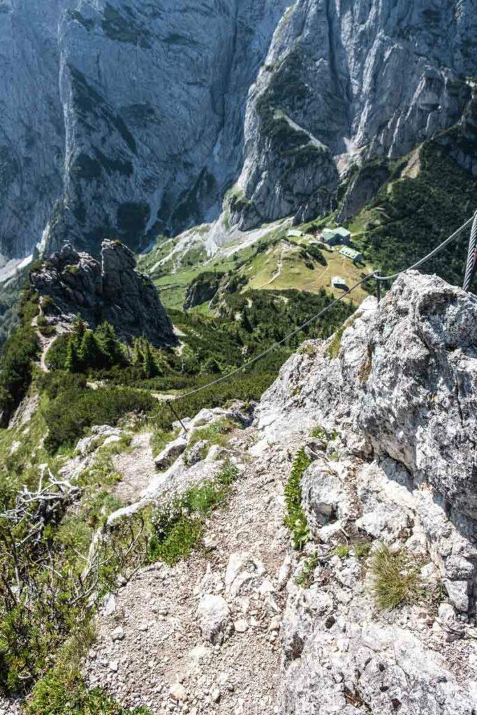 Stripsenkopf-Kletterei