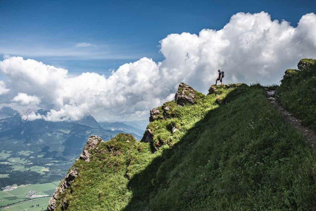 Aufstieg zum Kitzbüheler Horn