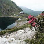 Blick auf das Wildseeloderhaus nach dem Marokka Klettersteig