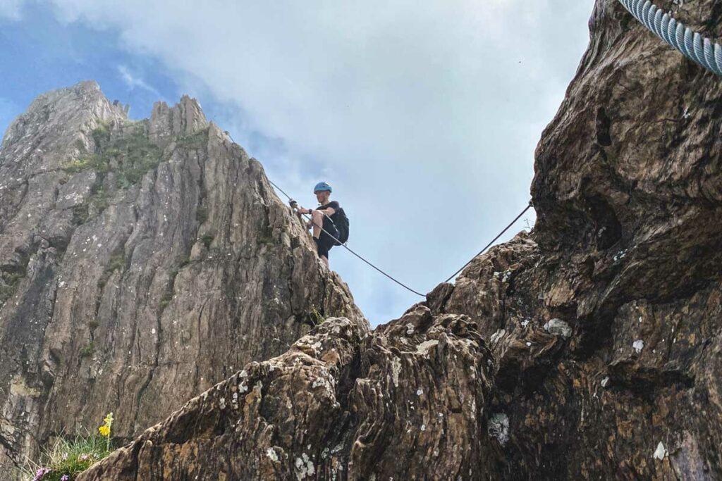 Gipfelwand Klettersteig Marokka