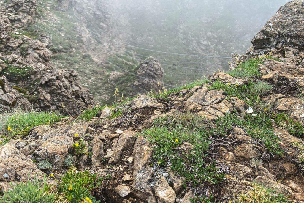 Seilbrücke Marokka Klettersteig