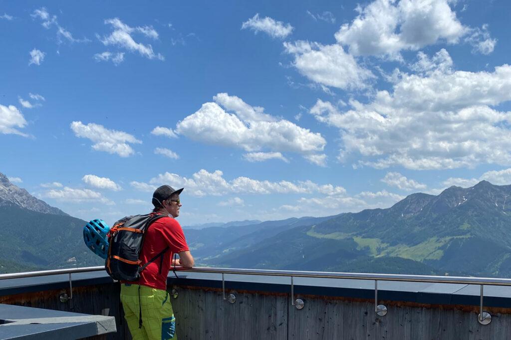Jakobskreuz: traumhafter Ausblick von der Buchensteinwand 7