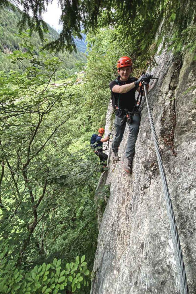 Quergang-Weisse-Gams-Klettersteig
