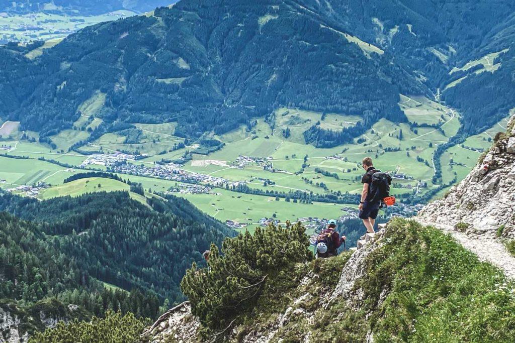 Abstieg von der Passauer Hütte