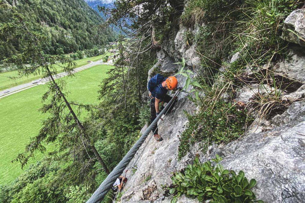 Weiße Gams Klettersteig